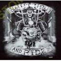 T shirt biker shut up and ride