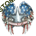 T shirt biker freedom