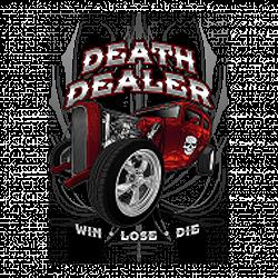 T shirt biker death dealer
