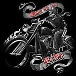 T shirt biker ride free