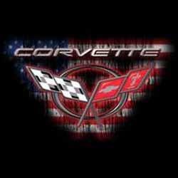 T shirt biker corvette