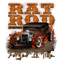 T shirt biker rat rod