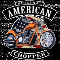 T shirt biker american choppers