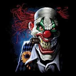 T shirt biker the joker