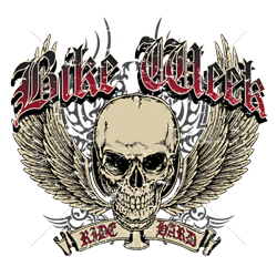 T shirt biker bike week