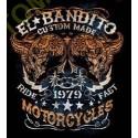 T shirt biker el bandito