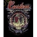 T shirt biker custom indian