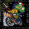 Débardeur homme green monster cycle