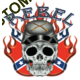 Débardeur homme confédéré