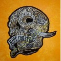 Patch, écusson banner skull ride forever