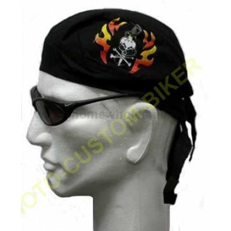 Zandana biker mode harley skull arrow