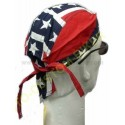 Zandana biker mode harley drapeau confédéré