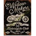 Plaque metal decorative Widow makers