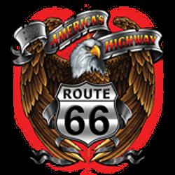 Débardeur homme america's eagle road 66