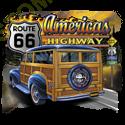 Débardeur homme america's road 66