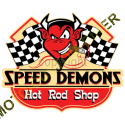 T shirt biker speed demon