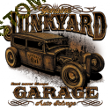 Débardeur homme junk yard garage
