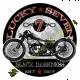 T Shirt biker mode Harley lucky seven