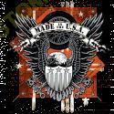 Sweat biker usa eagle
