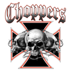 Sweat biker skull choppers