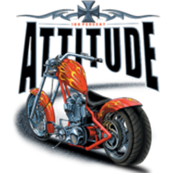 Sweat biker choppers attitude