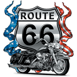 Sweat biker route 66