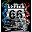 Sweat biker route 66