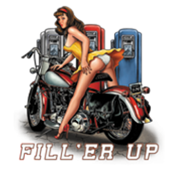 Sweat biker fill'er up