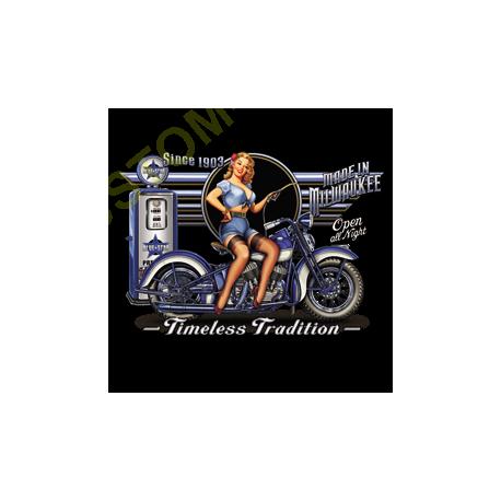 Sweat biker timeless tradition