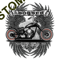 Sweat biker bobber