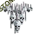 Sweat biker skull chain
