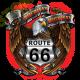 Sweat biker america's eagle road 66