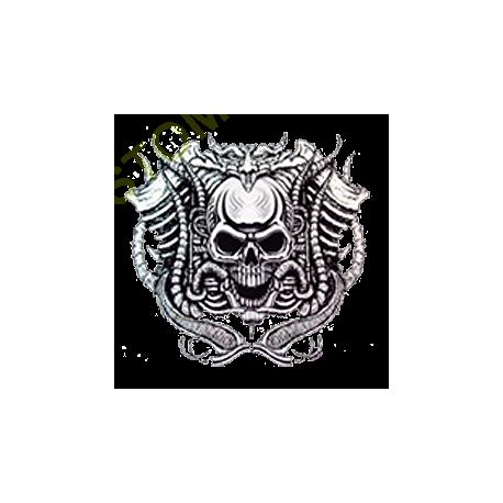 Sweat biker motor skull