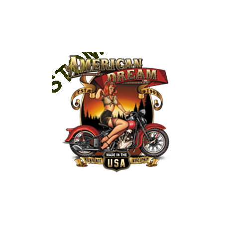 Sweat biker american dream babe