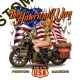 Sweat biker american way babe