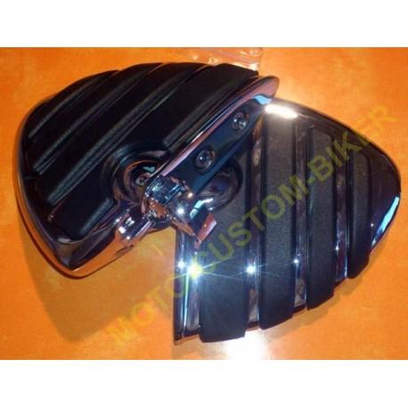 Reposes pieds moto isopegs pour harley et cale pieds moto custom