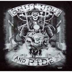 Sweat biker shut up and ride