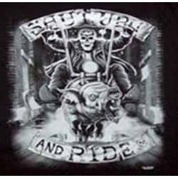 Sweat biker shut up and ride