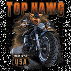 Sweat biker top hawg