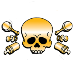 T Shirt enfant my first baby skull