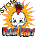 T Shirt enfant punk baby