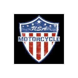 T Shirt enfant usa motorcycle