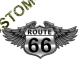 T Shirt enfant route 66