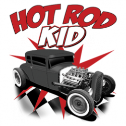 T Shirt enfant hot rod kid
