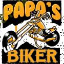 T Shirt enfant papa's biker