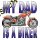 Body baby biker my dad is a biker