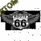 Body baby biker route 66
