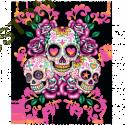 Body baby biker mexican skulls