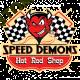 Sweat zip biker speed demon