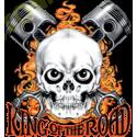 Sweat zippé biker king of the road